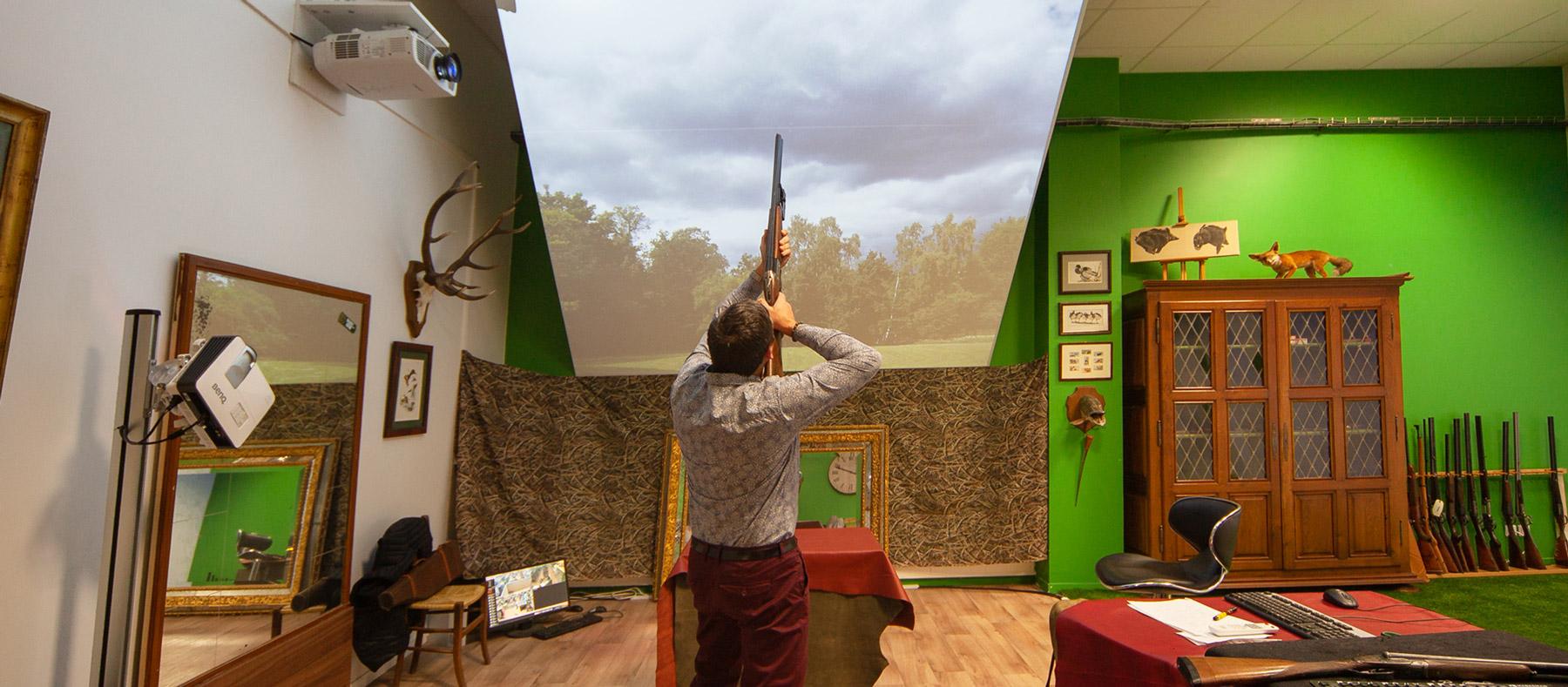 Simulateur Au Coureur des Bois