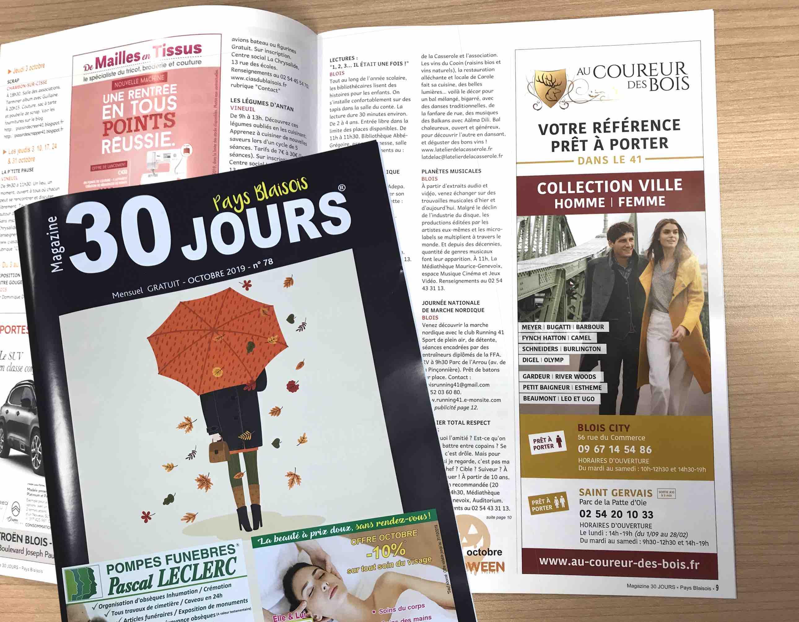 Magazine 30 jours