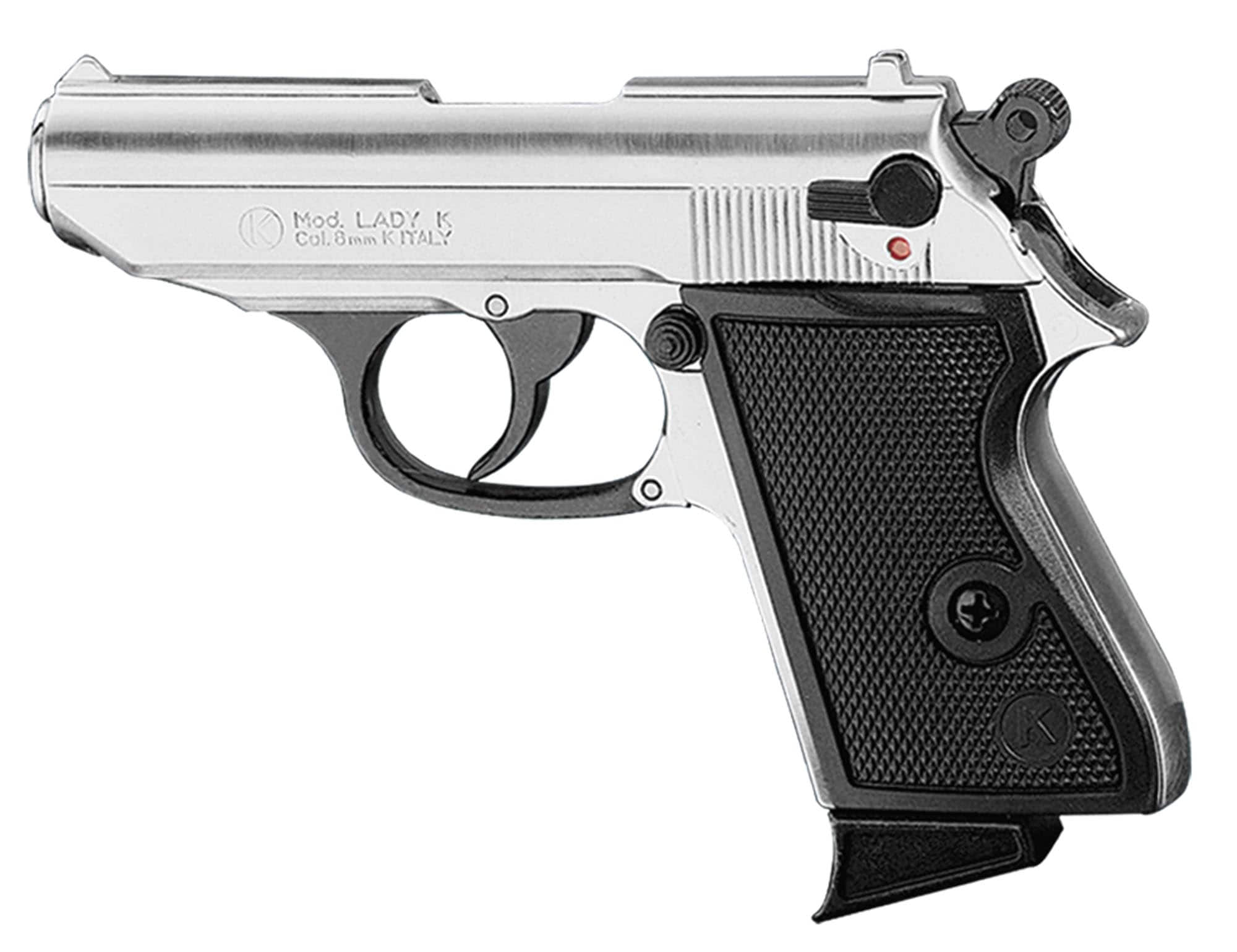 CHIAPPA LADY nickelé (9mm à blanc )