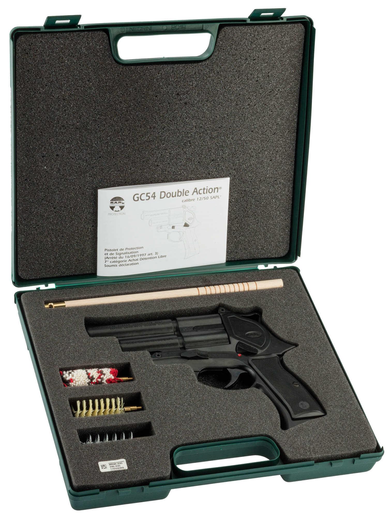 SAPL GC54 pistolet GOMM-COGNE (2 coups)